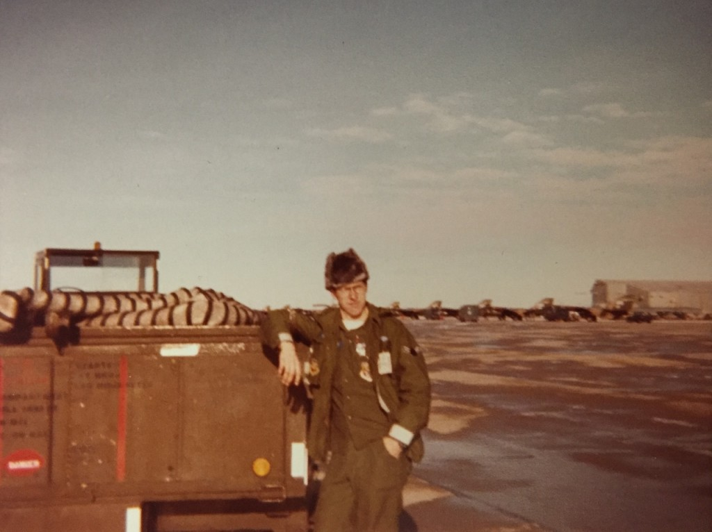 Don Sr. – Jan. 1979 – Mtn. Home Air Force Base, ID – Working on the flight line servicing F-111A fighter jets