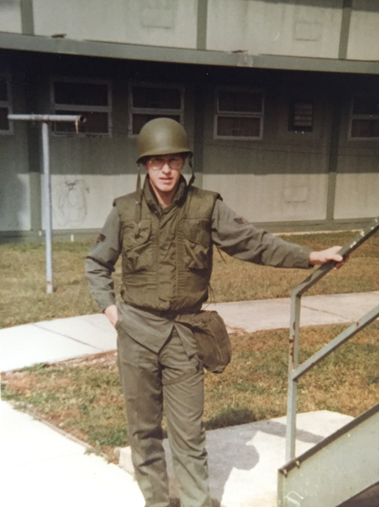 Don Sr. – Aug. 1980 – Outside Barracks, Osan Air Base South Korea